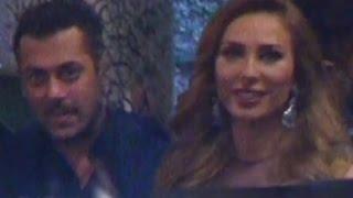 Salman Khan with girlfriend Iulia Vantur Preity Zinta WEDDING RECEPTION