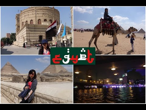TRAVEL VLOG #4 | CAPITAL OF EGYPT (Cairo) Giza Pyramids, Sphinx, The Hanging Church