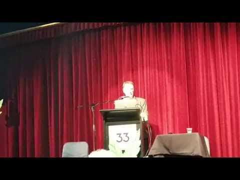 Dr. John Kaye NSW Greens MP speaking at the Sydney Medicinal Cannabis Forum March 2015