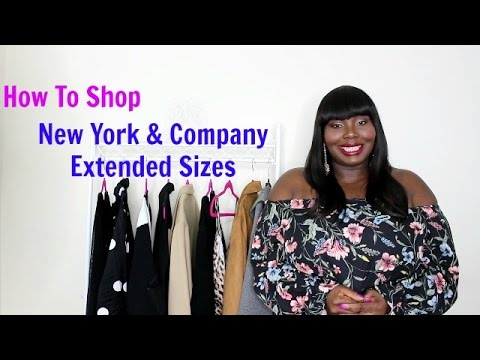 4e1306b0e85 Plus Size Fashion Try On  How To Shop New York And Company Larger Sizes