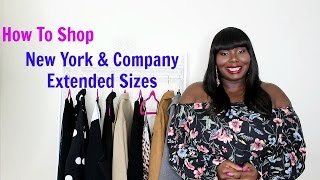 Plus Size Fashion Try On: How To Shop New York And Company Larger Sizes