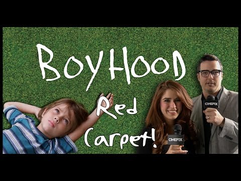 Boyhood Red Carpet  CineFix Now