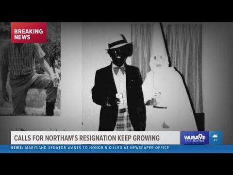 Calls for Virginia Governor Ralph Northam's resignation grow