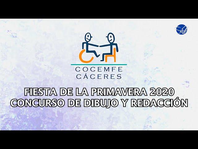 COCEMFE Cáceres. Fiesta de la Primavera 2020. Concurso de dibujo y redacción.