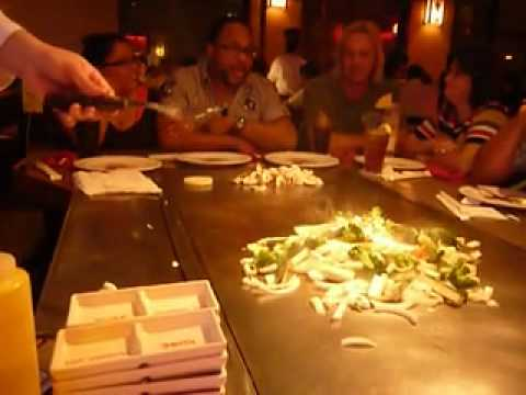 fec07460bb4d Orlando Kobe Japanese Steakhouse - YouTube
