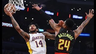 Lakers End Nine Game Losing Streak With Win Against Hawks! NBA Highlights!