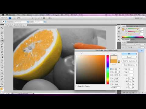 Oshop Tutorial Add Color To Black White