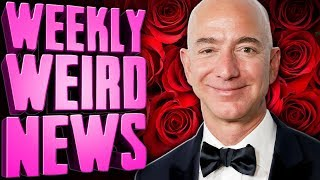 Bezos Text Theatre - Weekly Weird News
