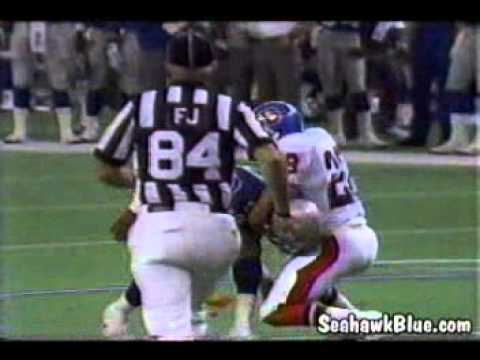 Steve Largent Hit - Entire Sequence