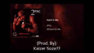 2pac can t c me remix instrumental