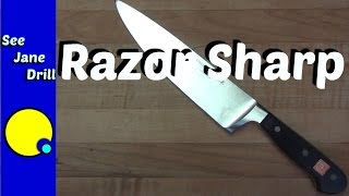 How to Sharpen Tools and Knives:  Beginner's Tutorial