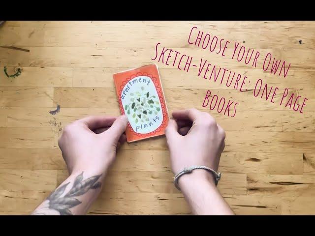DIY Single Page Sketchbook | Visual Art | ArtistYear Create