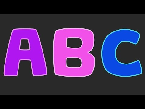 Learn The Alphabet - ABC Song