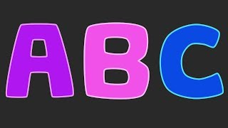 learn the alphabet abc song