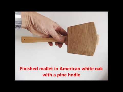 Making a Joiners Mallet the easy way