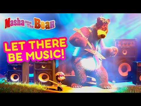 Masha And The Bear 💥🎵 LET THERE BE MUSIC! 🎵💥 Most Musical Cartoon Episodes 🎬