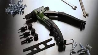 456 163 Заклёпочник для резьбовых заклепок (M3-M6)
