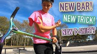 NEW BAR, NEW TRICK, NEW T-SHIRT?!