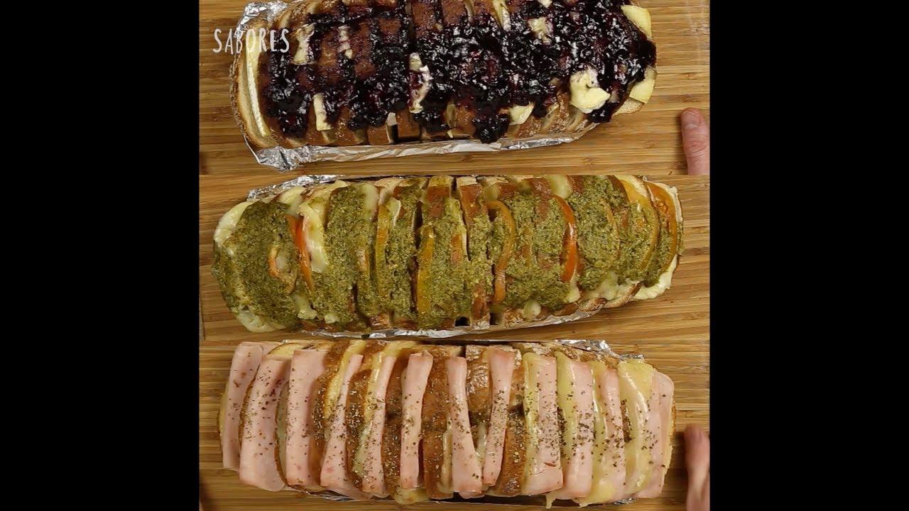 Resultado de imagen para recetas de pan relleno youtube