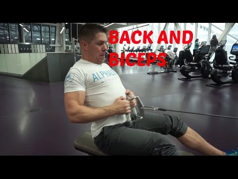 Tyler Frederick | Workout   Back and Biceps at Clareview Rec Centre