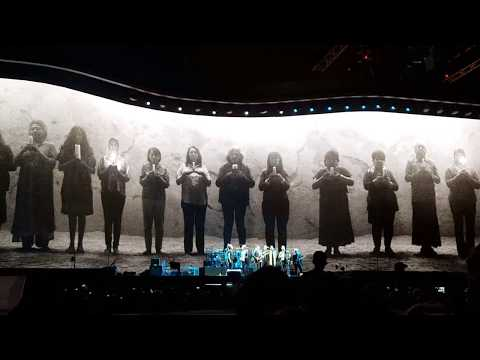 U2 JOSHUA TREE TOUR 2017 - MAY 14, SEATTLE - MOTHERS OF THE DISAPPEARED W/EDDIE VEDDER