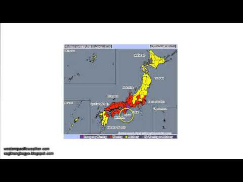 Typhoon Halong Morning Update | August 10, 2014