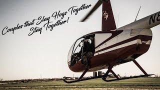 Husband and Wife Slaying Swine with Pork Choppers Aviation!