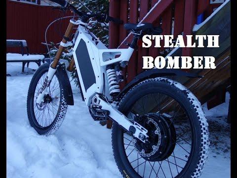 stealth bomber electric bike ebiking in ryazan russia. Black Bedroom Furniture Sets. Home Design Ideas