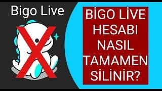 Bigo Live Hesabı Nasıl Silinir? BİGO HESAP KAPATMA! (Delete Bigo Account)