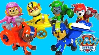 PAW PATROL PUPS AIR RESCUE JET PACKS at ADVENTURE BAY NICK JR CHASE MARSHALL SKYE