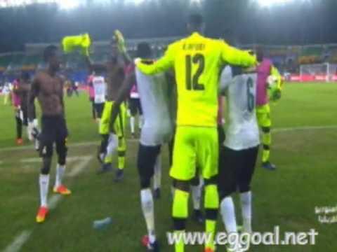 اهداف وملخص مباراة غانا والكونجو 2-1, كأس امم افريقيا 29-1-2017
