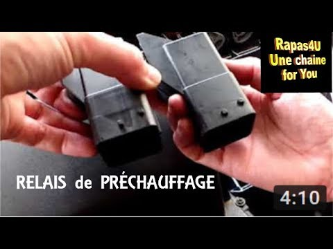 comment changer relais prechauffage 2l hdi peugeot tuto rapas4u youtube. Black Bedroom Furniture Sets. Home Design Ideas