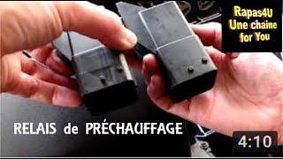 COMMENT CHANGER RELAIS PRECHAUFFAGE 2L hdi PEUGEOT // TUTO - Rapas4U