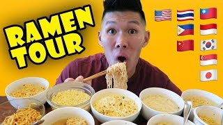 COMPARING INSTANT RAMEN Around The WORLD - Life After College: Ep. 496