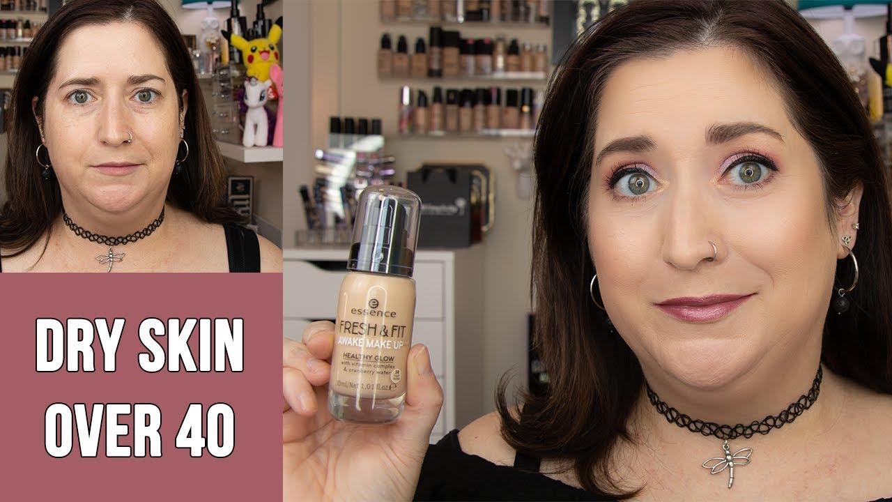 Essence Fresh Fit Awake Makeup Dry Skin Foundation Review 10