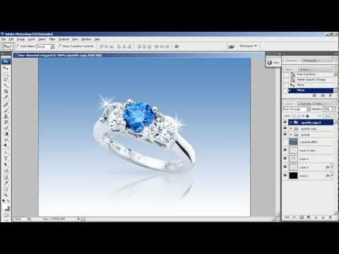 Create a Sparkle Effect in Photoshop