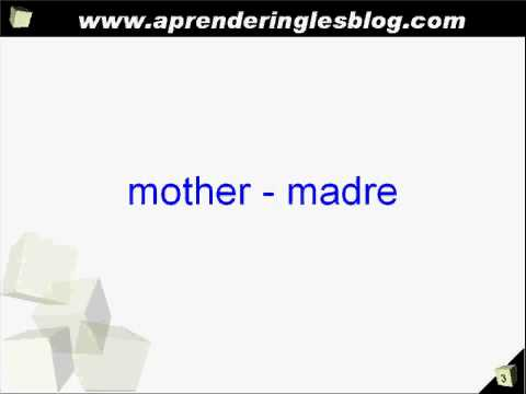 Aprender ingles miembros de la familia en ingles youtube for Nombres de arboles en ingles