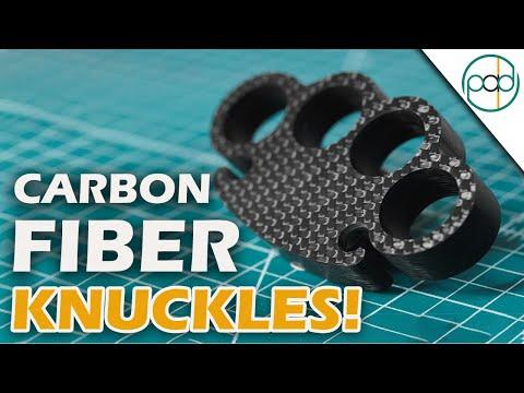 How to make Carbon Fiber Knuckles - DIY Brass Knuckles