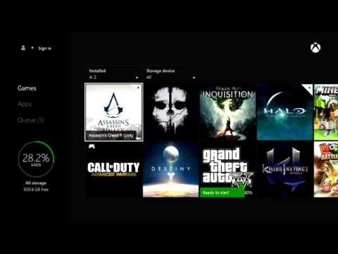 How to Fast Install a Hard Copy Xbox One Game