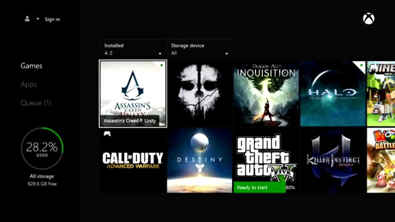 How To Fast Install A Hard Copy Xbox One Game Youtube