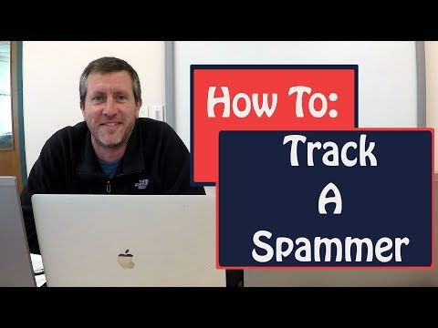 How To Track Down A Spam Email Source