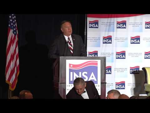 INSA Leadership Dinner with CIA Director Michael Pompeo, 7/11/17