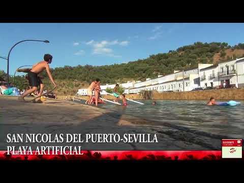 SAN NICOLAS DEL PUERTO-SEVILLA PLAYA ARTIFICIAL