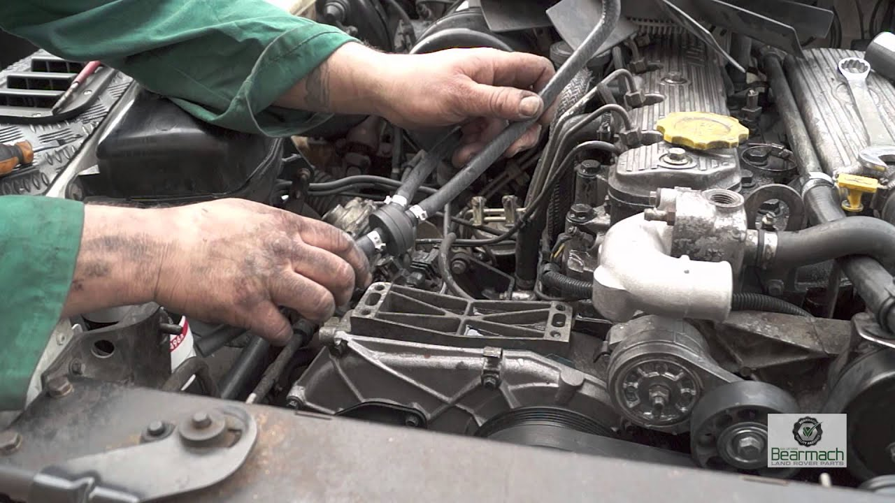 bleeding the 300tdi cooling system and checks the fine art