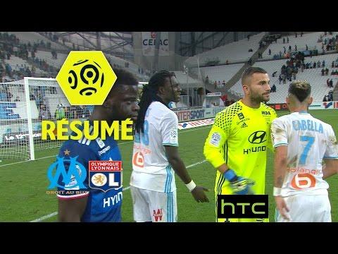 Olympique de Marseille - Olympique Lyonnais (0-0)  - Résumé - (OM - OL) / 2016-17