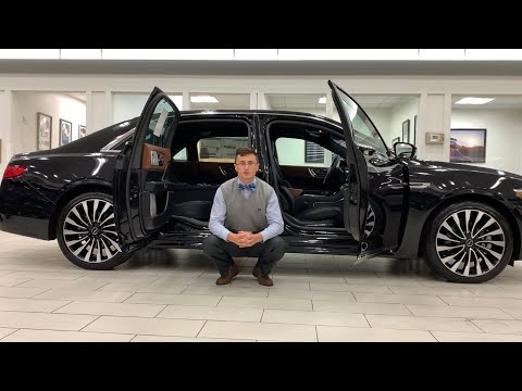 2019 Lincoln Continental with Coach Doors review (suicide doors)