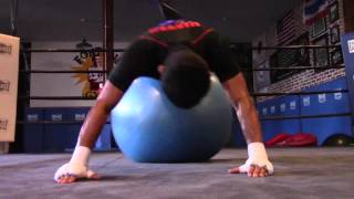 media day workout wbo world jr flyweight champion donnie ahas nietes