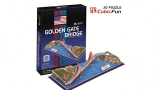 Golden Gate Bridge - Puzzle 3D