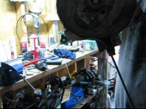 evinrude 70 wiring diagram for house sockets johnson recoil starter repair youtube