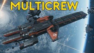 CATERPILLAR MULTICREW | Star Citizen 2.6.3 Live Gameplay | (5/30/17)